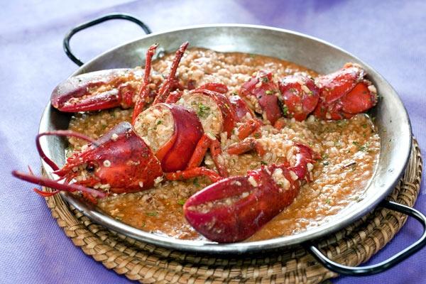 Arroz con bogavante | Cantabria | Spain#Comida española,#Spain Trademark