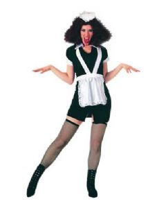 Maid: Rocky Horror Magenta Costume.