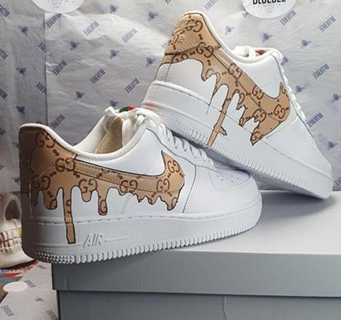 Nike Air Force 1 Gucci Drip | THE