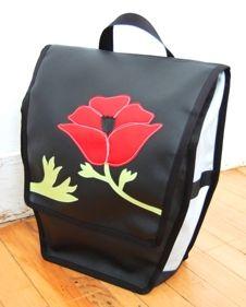 bike pannier bags by Queen Bee.The Queen