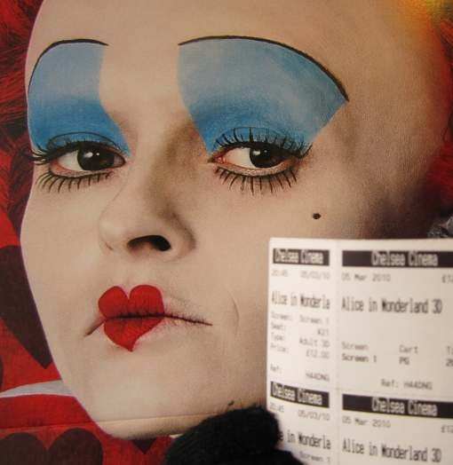 queen of hearts helena bonham carter costume - Google Search