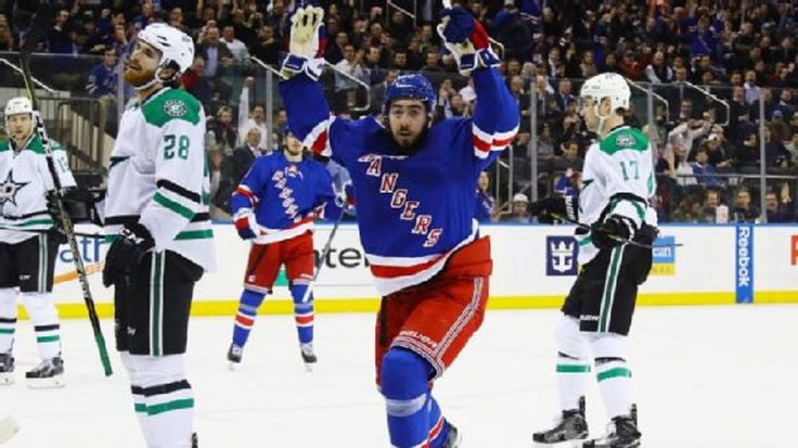 The New York Rangers have signed center Mika Zibanejad to a five-year, $26.75 million deal....