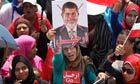 Egyptian army suspends constitution and removes President Morsi – live • President Mohamed Morsi ousted by military coup • Army suspends constitution and promises early election  • Constitutional court to run country for interim period • Crowds in Tahrir Square cheer army announcement • Al-Azhar sheikh, Coptic pope, ElBaradei join statement