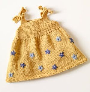 Knit baby clothes