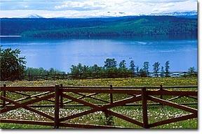 Francois Lake, Northern British Columbia, Canada