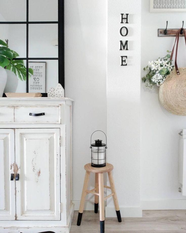 Home Is Where Your Heart Ein Eingangsbereich Mit Viel Liebe Einzurichten Ist Absolutes
