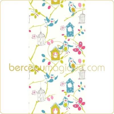 1000 ideas about papier peint chambre on pinterest. Black Bedroom Furniture Sets. Home Design Ideas