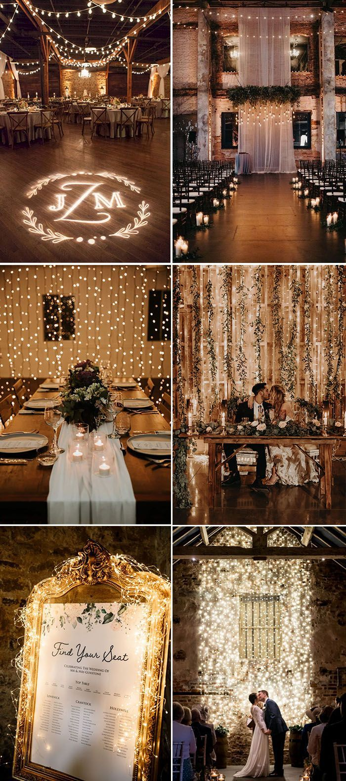 30 Creative Wedding Lighting Ideas To Make Your Big Day Swoon Elegantweddinginvites Com In 2020 Indoor Wedding Decorations Indoor Wedding Receptions Wedding Lights
