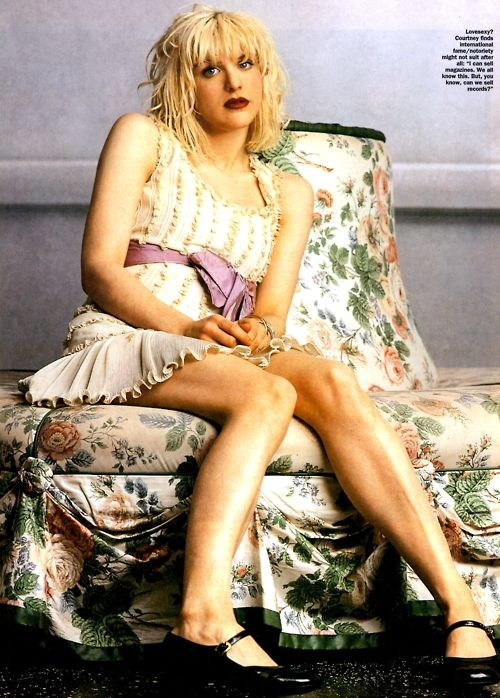 Courtney Love No one wore a babydoll dress and mary janes better than this lady