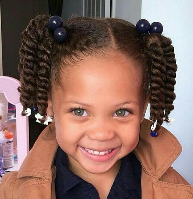 Black Girls Hairstyles mini puffs natural hairstyles for kids Find This Pin And More On Hairstyles For Little Girls By Trendyhairstyle