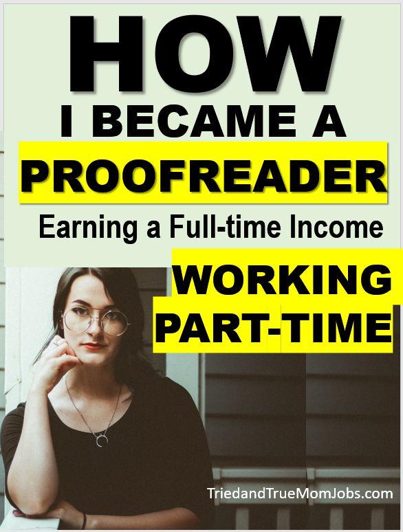 How I Became a Proofreader
