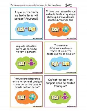 Free reader response ideas from Littératout.