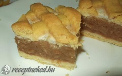 Krémes-habos almás pite recept
