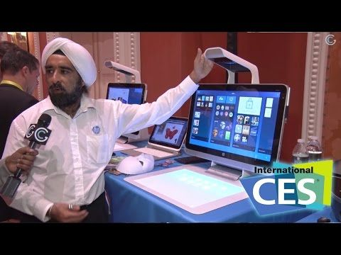New Ways To Interact With Your Computer - CES 2015 GetConnected TV - YouTube