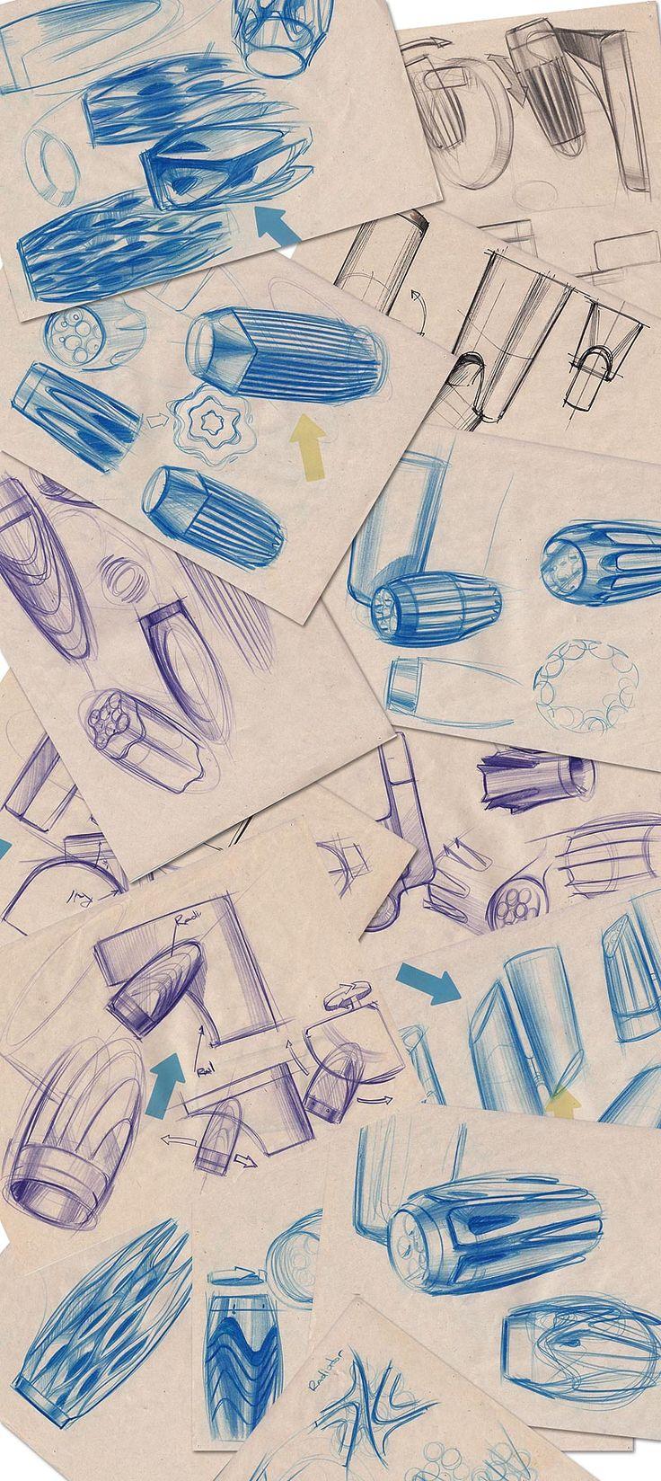 Создание светильника «Рэйнбоу электроникс» Creating a lighting - sketches
