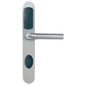 Cerradura Spy Smartair con Cilindro de Emergencia Oculto.  Cerradura electronica de proximidad RFID 13,56MHz. Incluye cilindro de emergencia oculto.  www.innovahotel.com