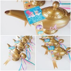 Genie Lamp. Grant everyone at your Halloween party three wishes with this fun plastic genie lamp! Mysterious and magical, this Arabian accessory will complete ...