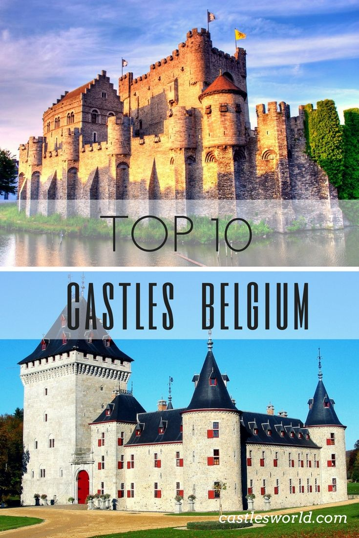 Belgium is a country known for its magnificent architecture. It is said that Belgium has more castles per capita than even France. Moreover, the country's smaller size, makes them easier to visit. Here are 10 of the most beautiful castles that hopefully will inspire your own travels in Belgium.