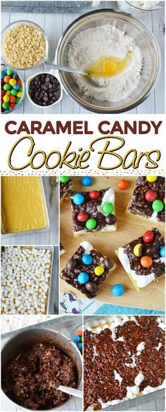 Caramel Cookie Bar Recipe - Layers of Deliciousness