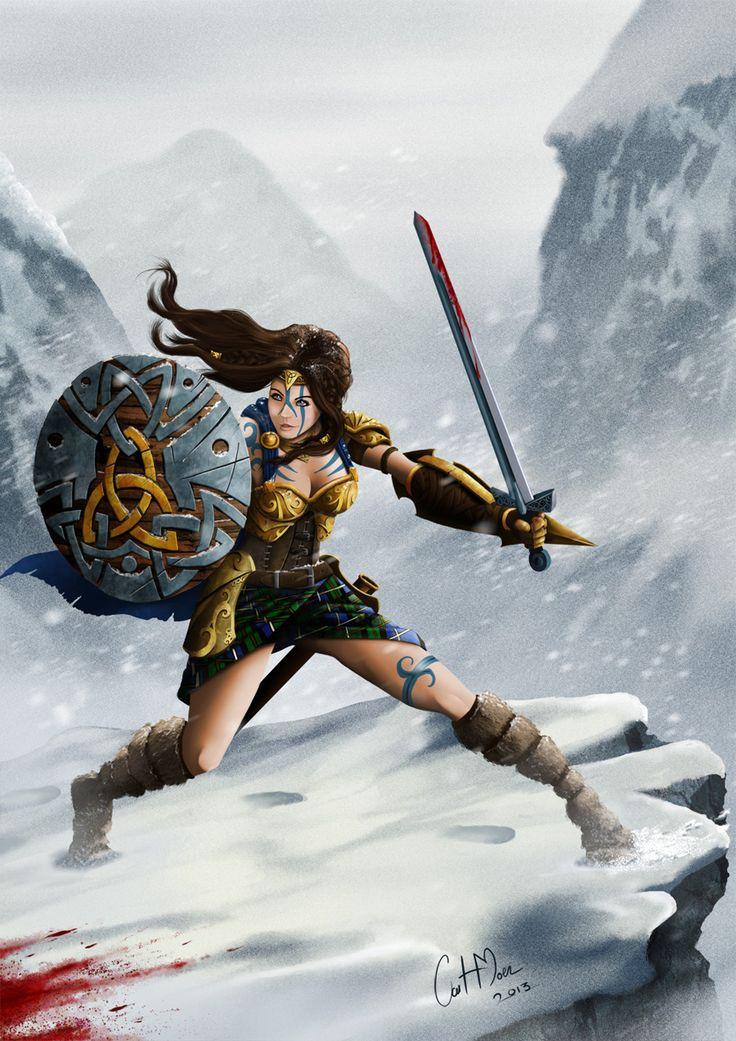 Celtic Warrior commission.