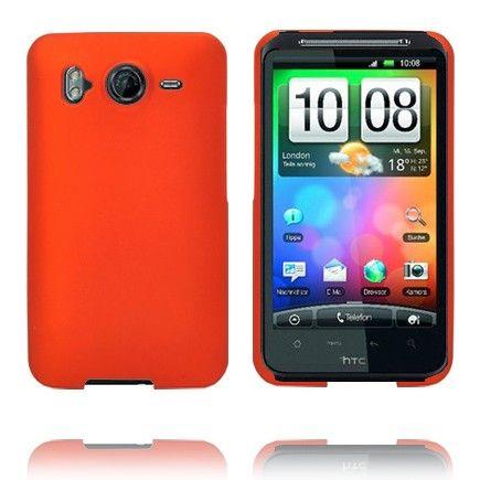 Hard Shell (Oranssi) HTC Desire HD Suojakuori