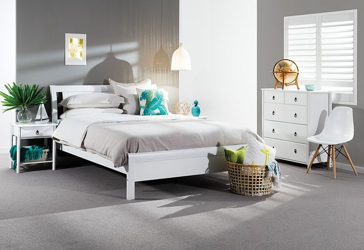 Katie 4 Piece Tall Chest Queen Bedroom Suite | Super Amart | Coastal Style  | Pinterest | Queen Bedroom, Bedrooms And Coastal Style