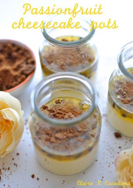 mary berry lemon and passion fruit pots On mary berry lemon cream pots