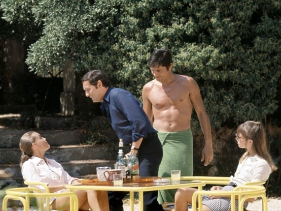 Film la piscine alain delon romy schneider jacques for Alain delon la piscine streaming