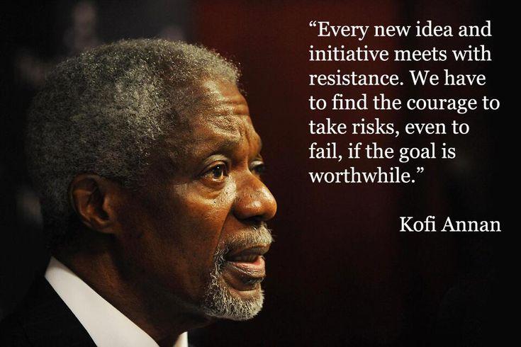 The Elders on   Kofi annan, Mental health advocacy and ...