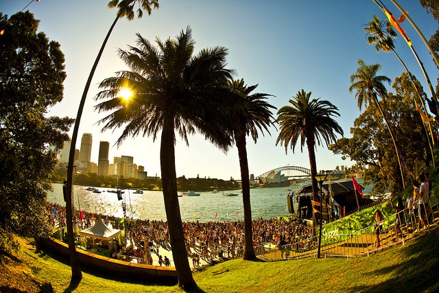 Now this is an ideal place to cut loose and party at a festival.  Harbour Life Festival - Sydney.  www.EnglishGentleman.me