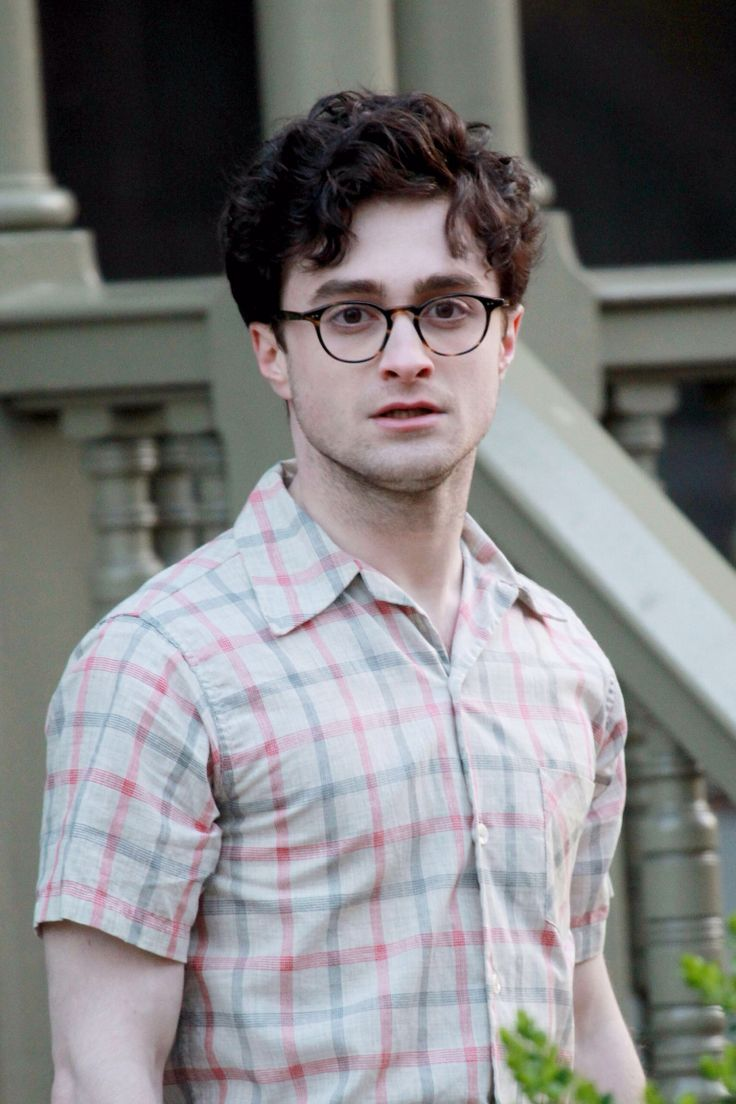 Picture about daniel jacob radcliffe all about man and male - Daniel Radcliffe Hair And Glasses
