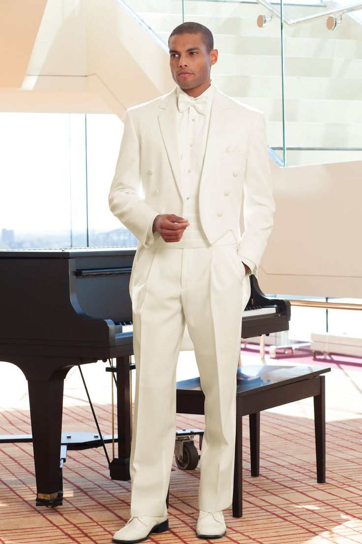 Stephen Geoffrey Ivory Notch Fulldress Traditional Fit Tuxedo | Jim's Formal Wear