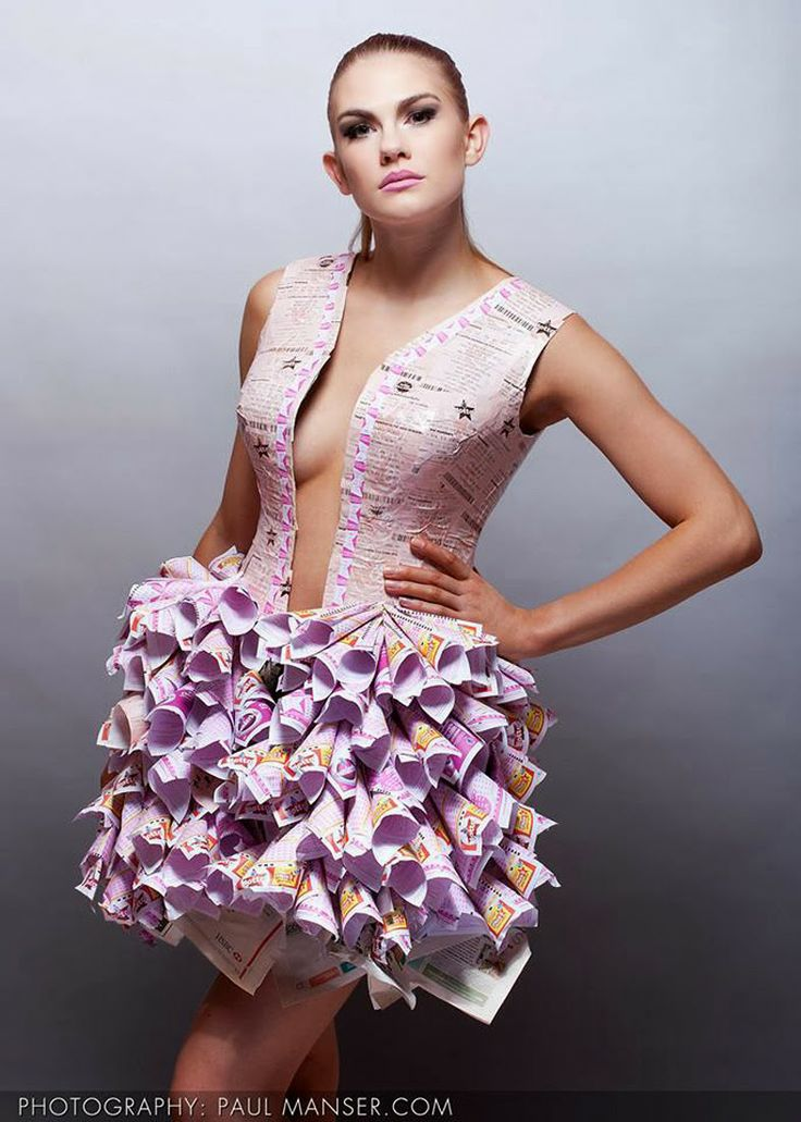 20 best Dresses images on Pinterest | Recycled materials ...