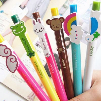 Bright Animal Pens, The Kawaii Notebook