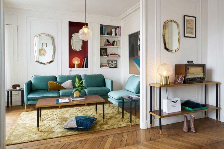 la redoute int rieurs automne hiver 2017 canap pinterest canap en velours velours et. Black Bedroom Furniture Sets. Home Design Ideas