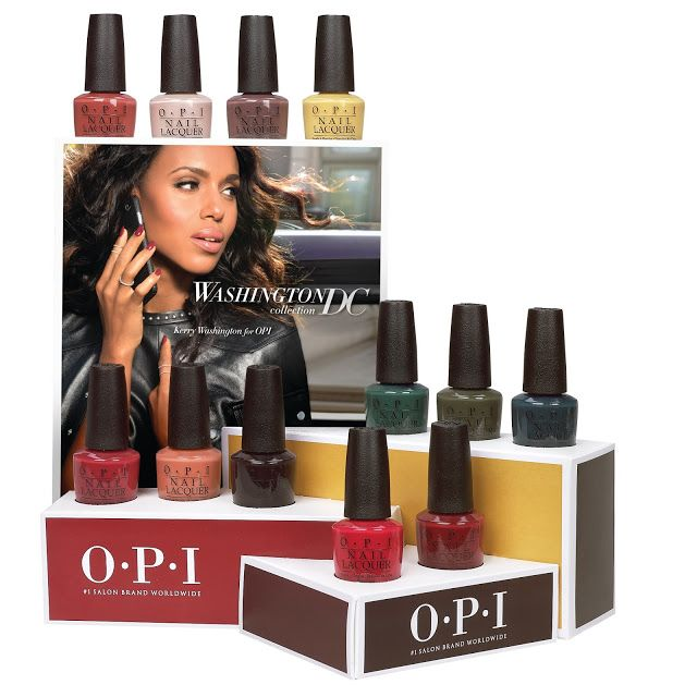 """Really want We The Female KellieGonzo - Washington D.C. Collection featuring Kerry Washington of ABC's """"Scandal"""" by OPI"""