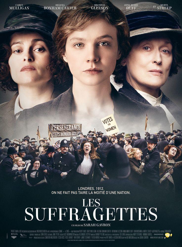 Las Sufragistas con Carey Mulligan, Helena Bonham-Carter y Meryl Streep. Esperaba más, le faltó algo.