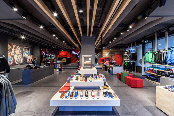Puma store by Plajer & Franz Studio, Munich