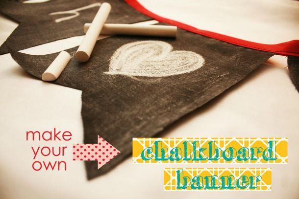 how to make chalk stay on a chalkboard
