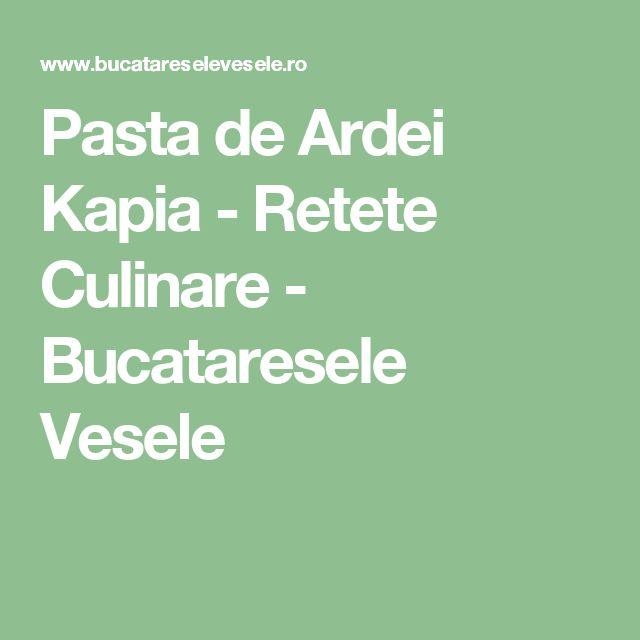 Pasta de Ardei Kapia - Retete Culinare - Bucataresele Vesele