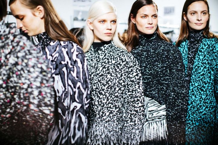 Proenza Schouler Fall 2014 - Backstage - Photographed by Kevin Tachman