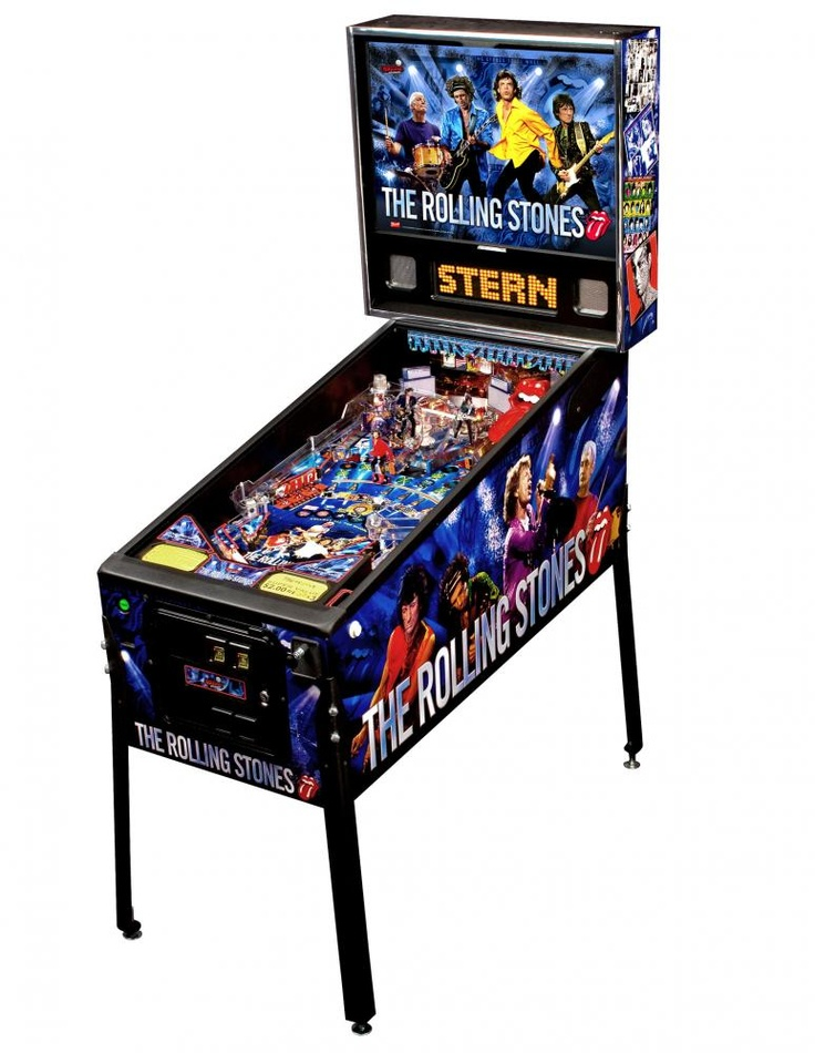 The Rolling Stones Pinball Machine by Stern