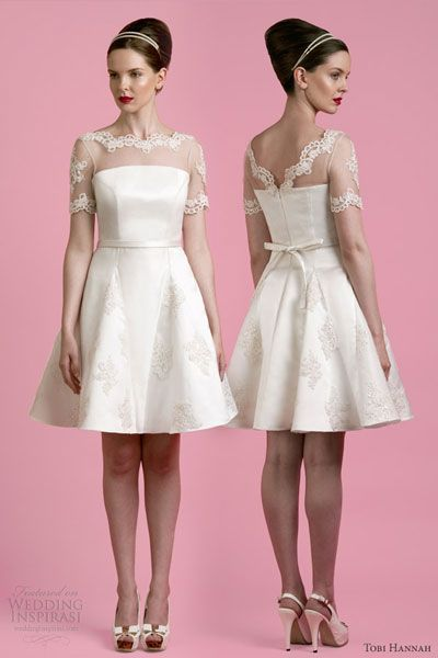 Short Wedding Dress 25th Wedding Anniversary Pinterest