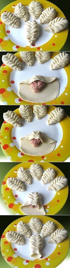 Albóndigas Swaddled, albóndigas, empanadas.  Master Class en imágenes