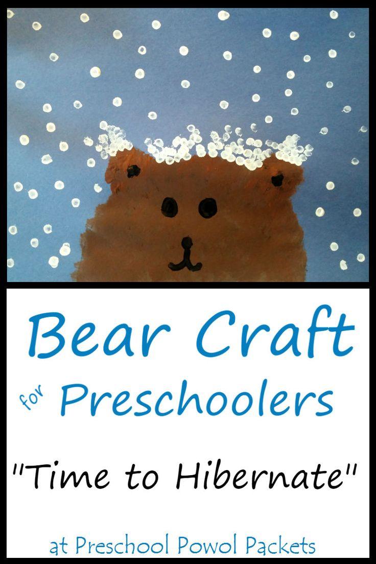 1000 Ideas About Bear Crafts Preschool On Pinterest