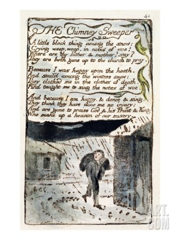 the symbolism of immortality in the chimney sweeper by william blake William blake was a famous writer of the romantic age which took place in 1832 william blake wrote two poems called the chimney sweeper.