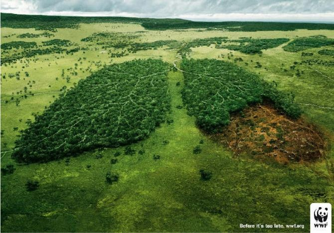 makes you think, doesnt it?: Forests, Observed, Planets, Harlem Shakes, Funny Commercial, Too Late, Trees, Global Warm, Prints Ads