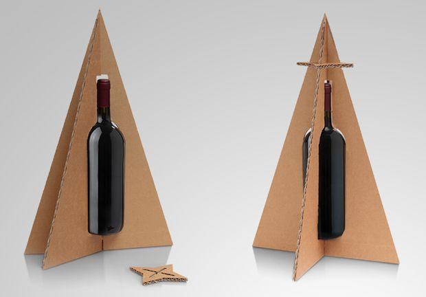 Albero DiVino #Natale #bottiglia #vino #Christmast #bottle #wine