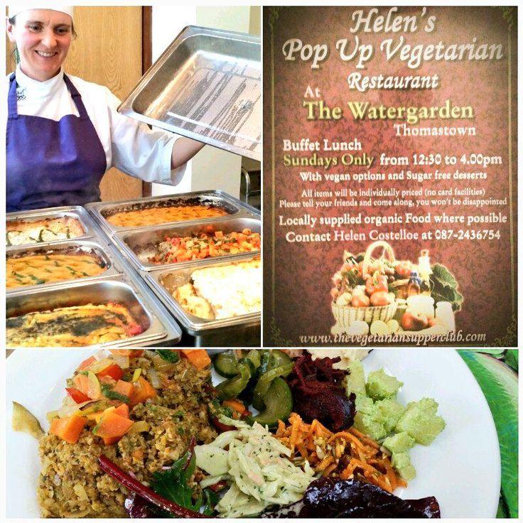 Helen's Pop Up Vegetarian Restaurant in Thomastown, Kilkenny.
