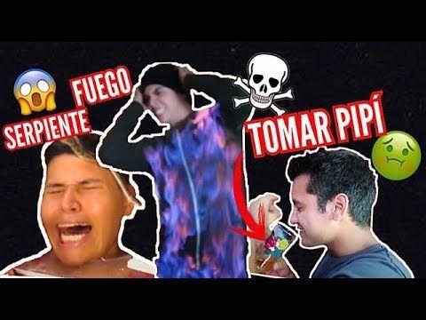 RETOS EXTREMOS 5 (Me prenden fuego 🔥) Juan De DiosPantoja - YouTube
